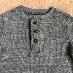OSHKOSH B'GOSH Thermal Henley Long-Sleeve Shirt